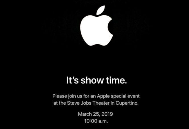 Apple officialise son événement du 25 mars prochain