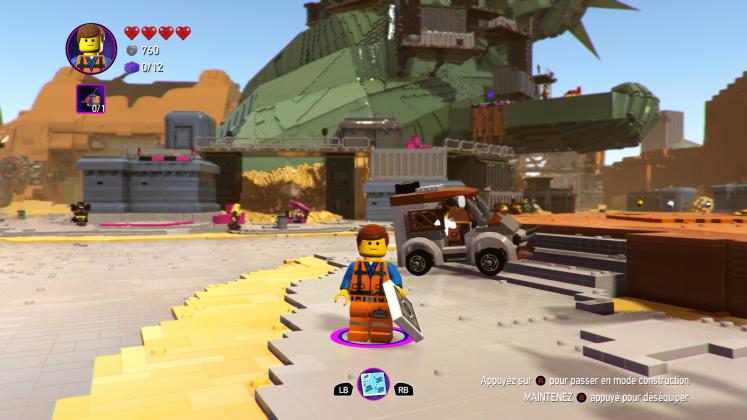 La Grande Aventure LEGO® 2 le jeu vidéo 80 747x420 - [ TEST ] La Grande Aventure LEGO 2 : Le Jeu Vidéo - une série qui s'essouffle sérieusement