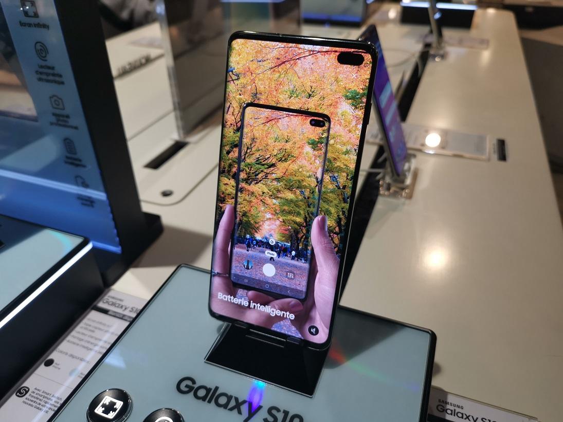 Les meilleurs détournements de la bulle des Samsung Galaxy S10 et Galaxy S10 Plus