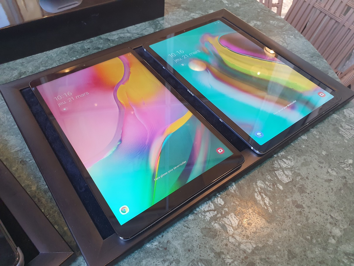 Samsung Galaxy Tab A 2019 et Galaxy Tab S5e