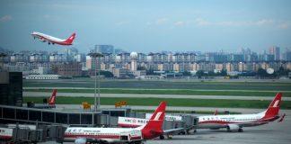 Un aéroport en Chine