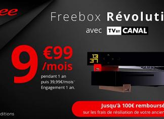 Freebox Revolution en promo sur Vente Privée !