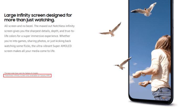 Galaxy A90 : le smartphone full borderless de Samsung débarque le 10 avril !