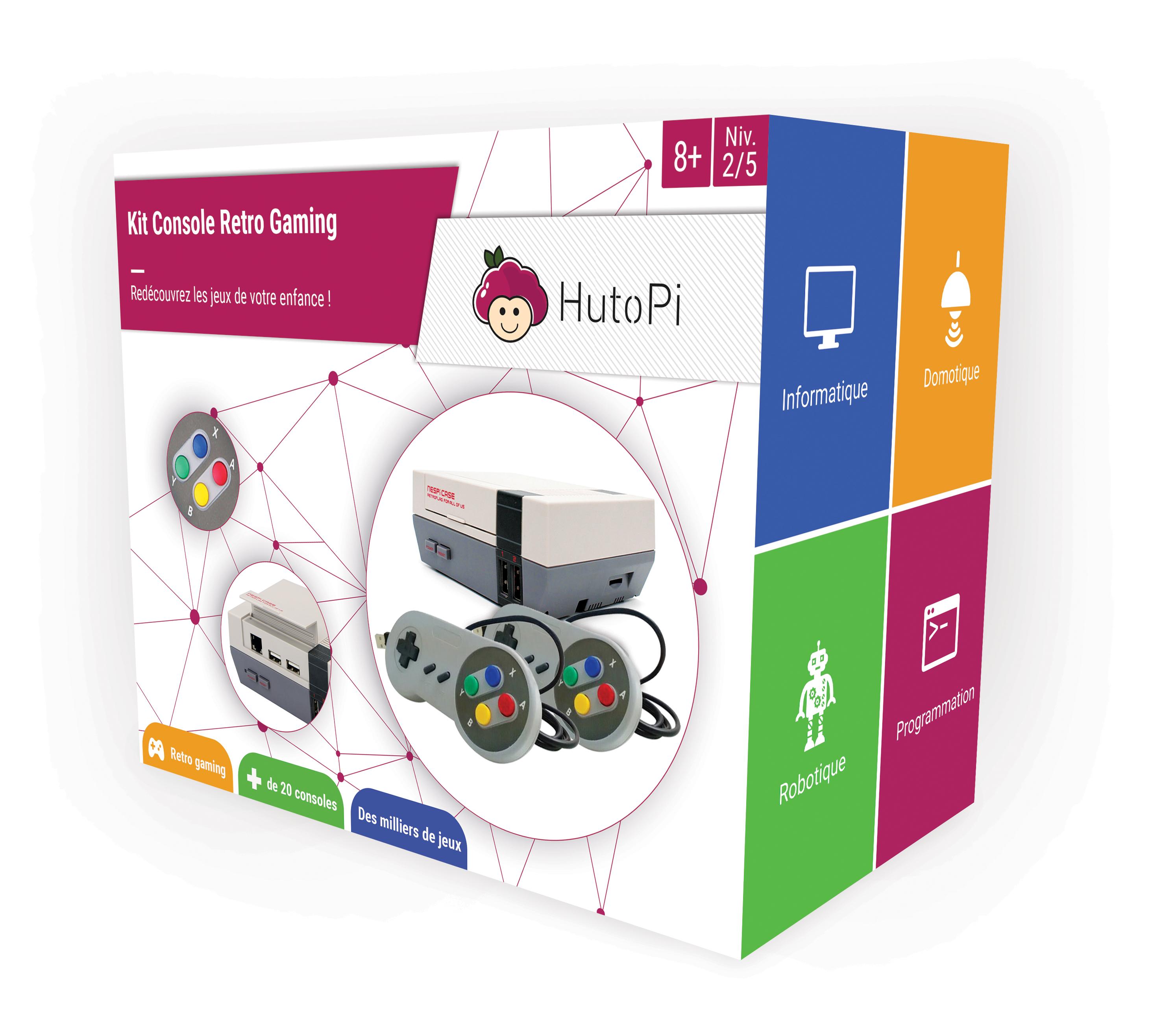 Idée cadeau : HutoPi, le kit de jeux rétro très à la mode