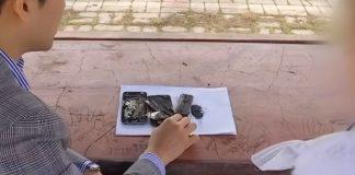 Un iPhone explose en classe !
