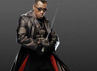 Wesley Snipes incarnant Blade