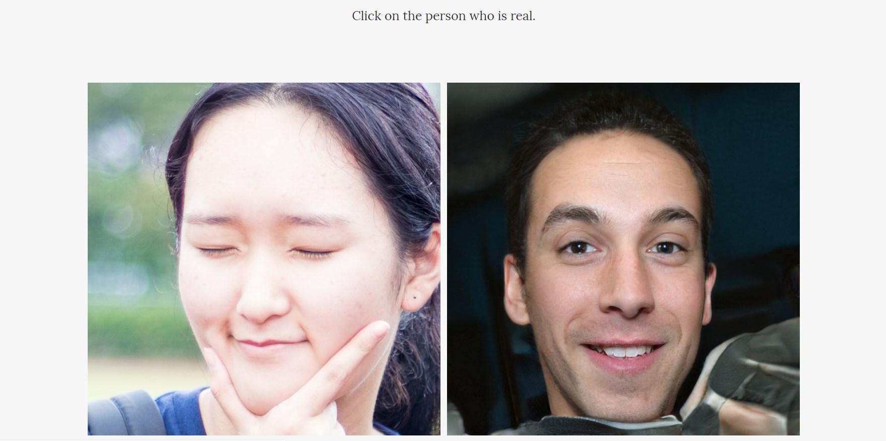 Sauriez-vous distinguer un visage réel d'un visage créé par une intelligence artificielle ?