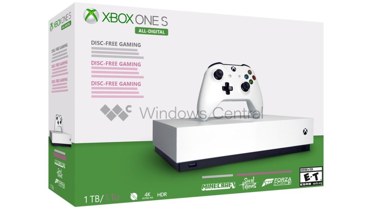La Xbox sans lecteur de disque sortira dès cette année