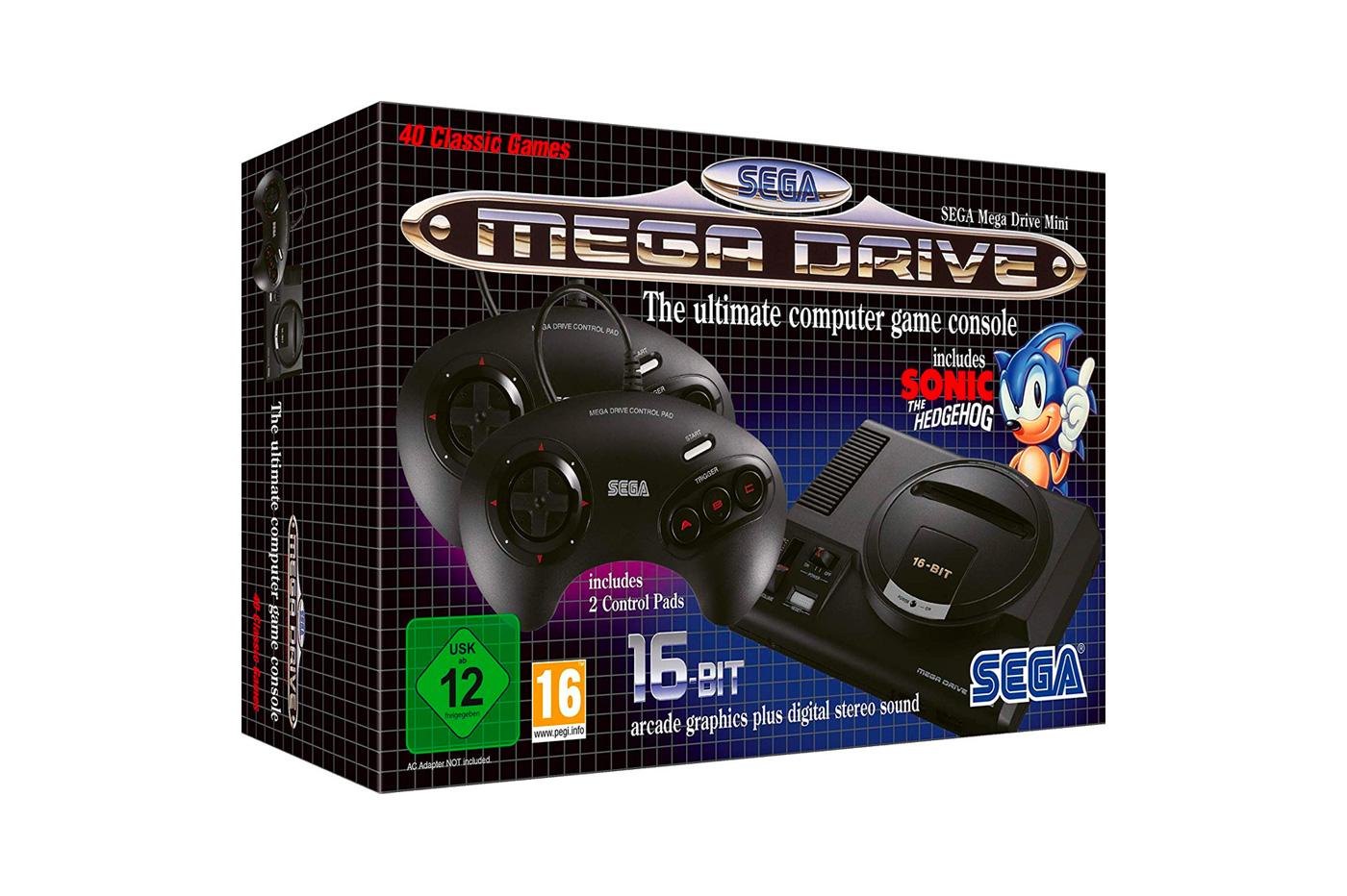 Console rétro : la Mega Drive Mini bientôt disponible !