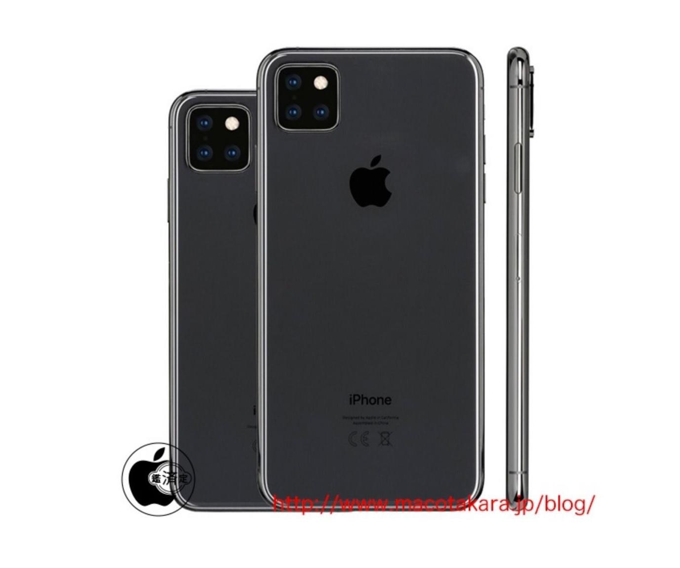 Cinq iPhone 2019 au lieu de trois pour Apple !