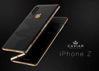 iPhone Z : voici comment Caviar imagine l'iPhone pliable d'Apple