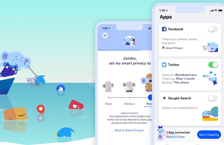 Jumbo : une nouvelle application pour protéger votre vie privée en ligne
