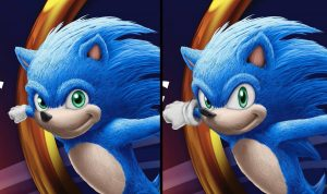 Le film Sonic : le design du hérisson va être revu
