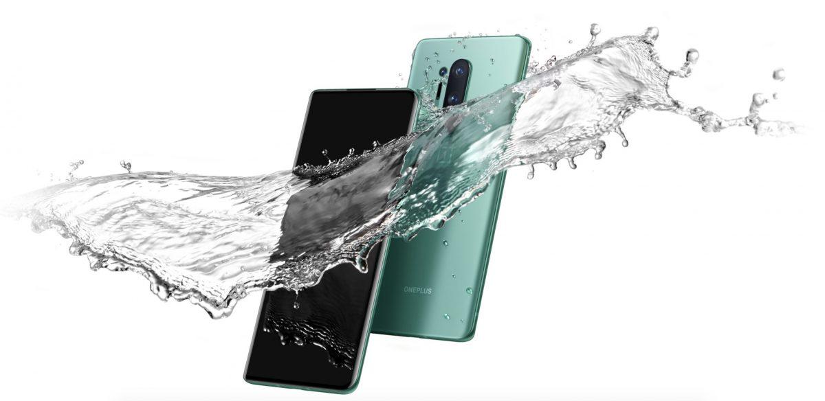 OnePlus 8 étanche